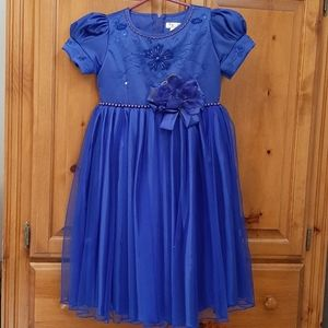 Satin & Lace Girls Dress
